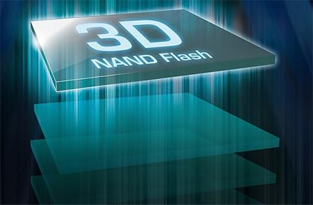 del flash 2D al 3D nand